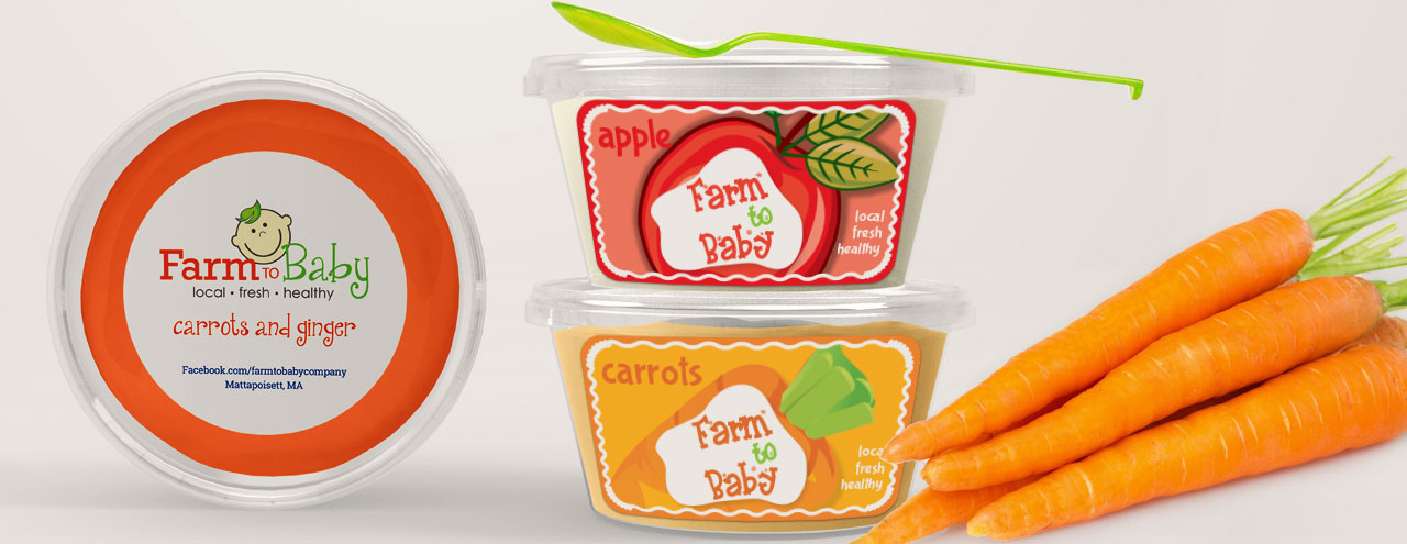 Frozen Baby Food Labels