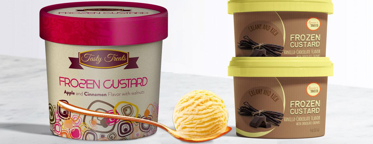 Frozen Custard Labels