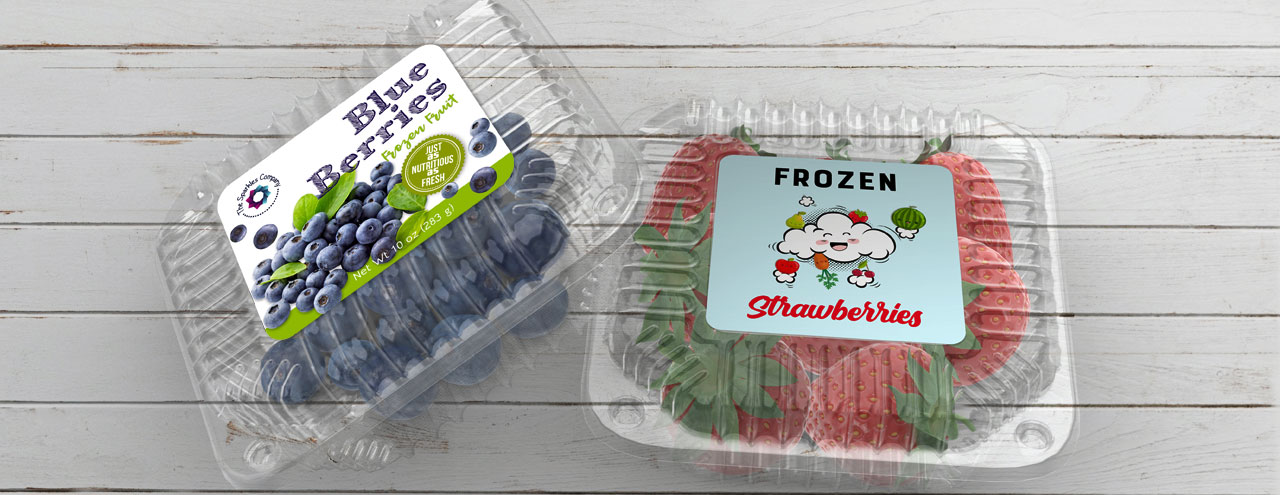 Frozen Fruit Labels
